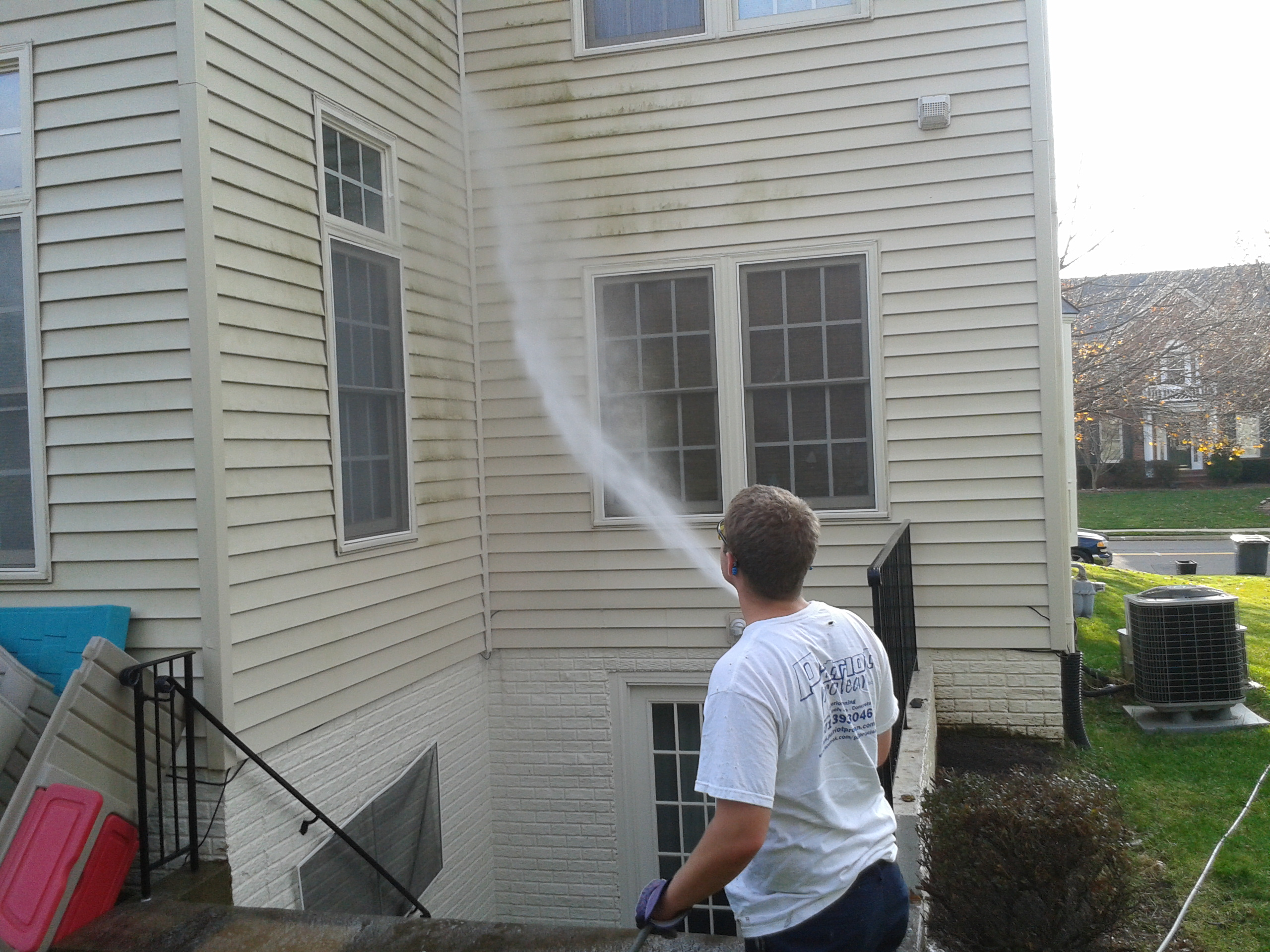 House Washing Northern Virginia