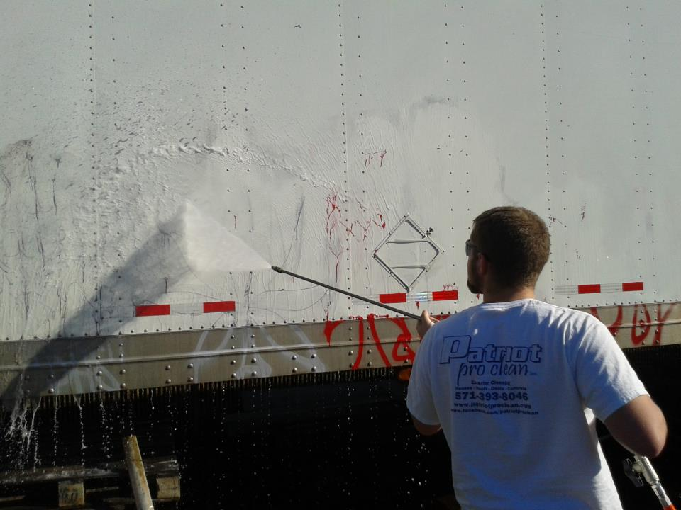 24 hour Graffiti Removal – Northern Virginia